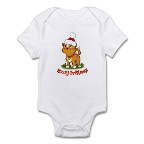 Meowy Christmas Infant Bodysuit