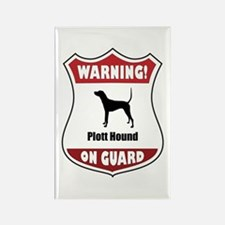 Plott On Guard Rectangle Magnet (100 pack)