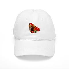Christmas Horse Baseball Cap