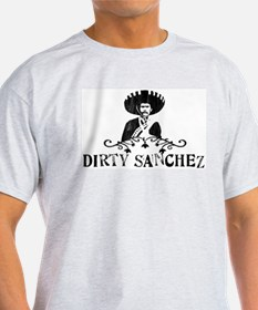 Dirty Sanchez Ash Grey T-Shirt
