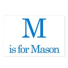 M is for Mason Postcards (Package of 8)