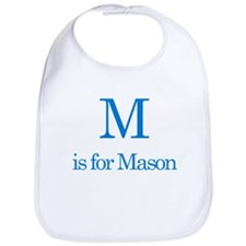 M is for Mason Bib