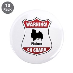 "Phalene On Guard 3.5"" Button (10 pack)"