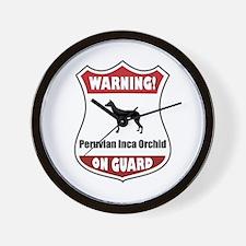 PIO On Guard Wall Clock