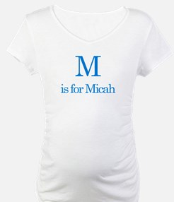 M is for Micah Shirt