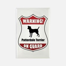 Patterdale On Guard Rectangle Magnet
