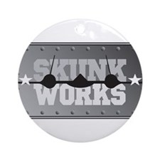 Skunk Works Ornament (Round)