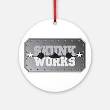 Skunk Works Ornament (Round)