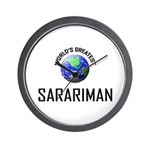 World's Greatest SARARIMAN Wall Clock