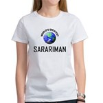 World's Greatest SARARIMAN Women's T-Shirt