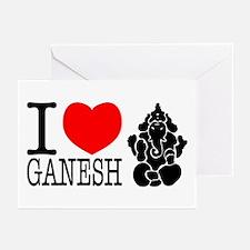 I Love Ganesh Greeting Cards (Pk of 10)