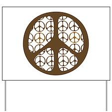 Peace Sign / Symbol Vintage Yard Sign