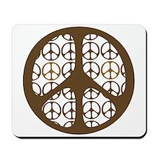 Peace Sign / Symbol Vintage Mousepad