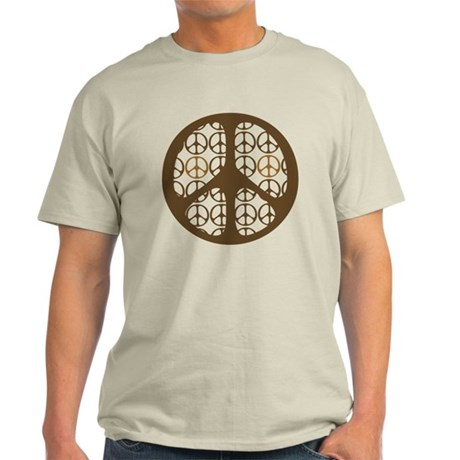 Peace Sign / Symbol Vintage Light T-Shirt