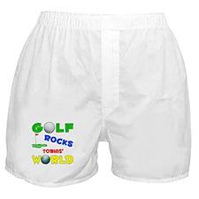 Golf Rocks Tobias' World - Boxer Shorts