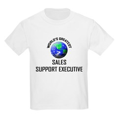 World's Greatest SALES SUPPORT EXECUTIVE T-Shirt