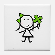 Girl & Clover Tile Coaster