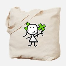 Girl & Clover Tote Bag