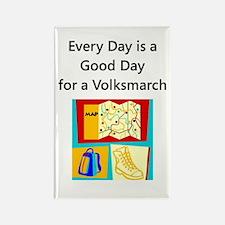 Volksmarch Rectangle Magnet