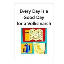 Volksmarch Postcards (Package of 8)