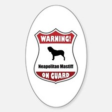 Neo On Guard Oval Decal