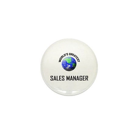 World's Greatest SALES MANAGER Mini Button