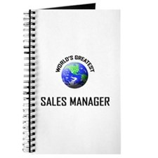 World's Greatest SALES MANAGER Journal