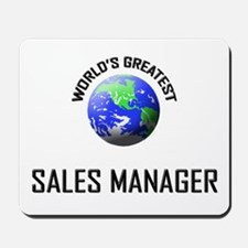 World's Greatest SALES MANAGER Mousepad