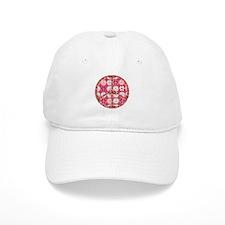 Pink - Peace on Earth Baseball Baseball Cap
