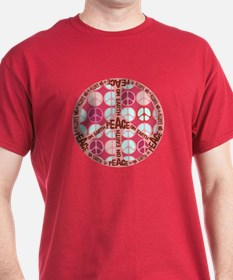 Pink - Peace on Earth T-Shirt