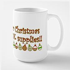 Dear Santa Large Mug