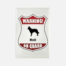 Mudi On Guard Rectangle Magnet (10 pack)