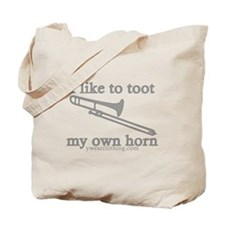 Toot Trombone Tote Bag