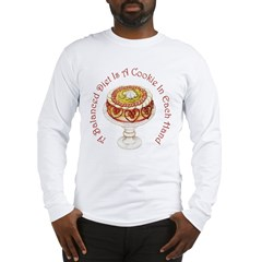A Balanced Diet... Long Sleeve T-Shirt