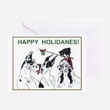 Happy Holidanes Greeting Card