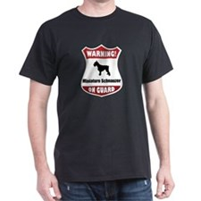 Schnauzer On Guard T-Shirt