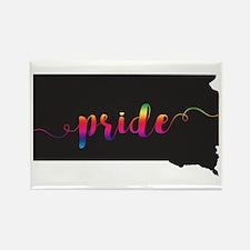 South Dakota Pride Rectangle Magnet