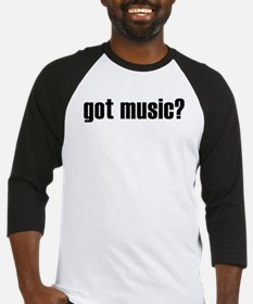 got music? Baseball Jersey