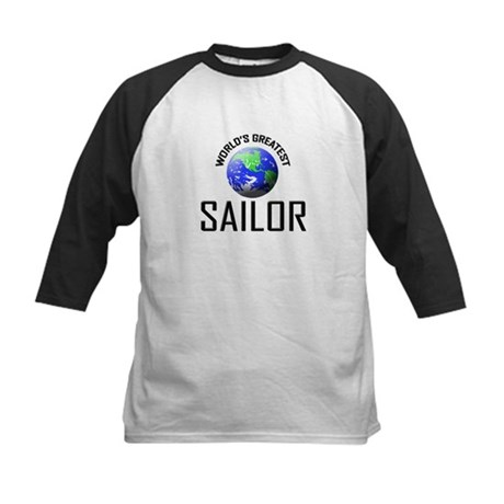 World's Greatest SAILOR Kids Baseball Jersey