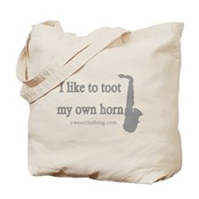 Toot Saxophone Tote Bag