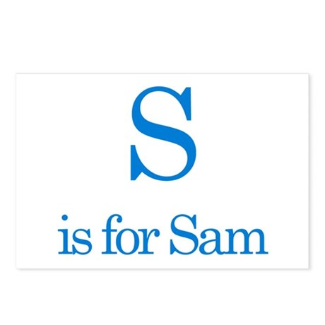 S is for Sam Postcards (Package of 8)