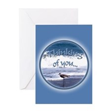 Unique Beaches and ocean Greeting Card
