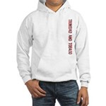 Trinidad/Tobago Stamp Hooded Sweatshirt