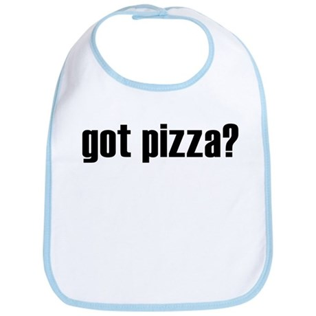 got pizza? Bib