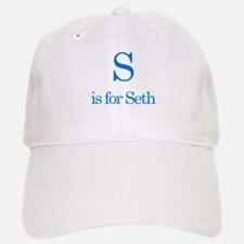 S is for Seth Baseball Baseball Cap