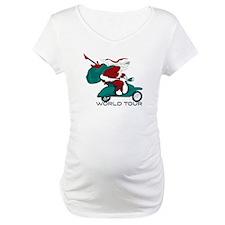 Santa's World Tour Scooter Shirt