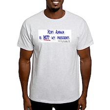 Anti-U.N. Kofi Annan Ash Grey T-Shirt