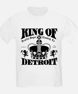 """KING OF DETROIT"" T-Shirt"
