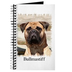 Bullmastiff- Color Head Study Journal
