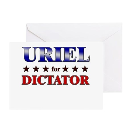 URIEL for dictator Greeting Cards (Pk of 20)